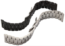 New Watchband Watch Strap 26mm 28mm 30mm Black Stainless Steel Silver Watchband for SEVENFRIDAY Wrist Watch