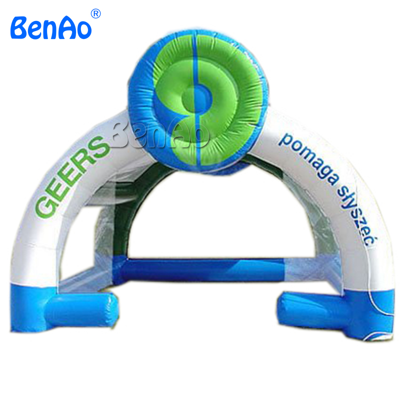 TT02 Advertising inflatables Event tent /Geers Tent 0.55mm PVC 16.5ftLx13ftWx13ftH with CE/UL blower 100% Quality Guarantee advertising inflatables stars for stage