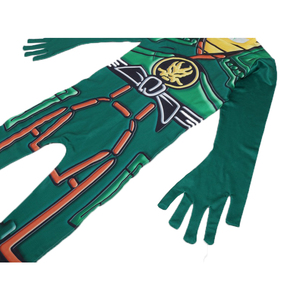 Image 4 - Green Ninjago Costume Kids Boys Jumpsuits Children Halloween Christmas Costume for Kids Fancy Party Clothes Ninja Costume Suits