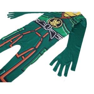 Image 4 - Groen Ninjago Kostuum Kids Jongens Jumpsuits Kinderen Halloween Kerst Kostuum Voor Kinderen Fancy Party Kleding Ninja Kostuum Suits