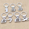 2016 Zinc Alloy Car Logo Key Chain Key Ring Keyring For BMW X/1/3/5 6/7/8 Key Holder Free Shipping