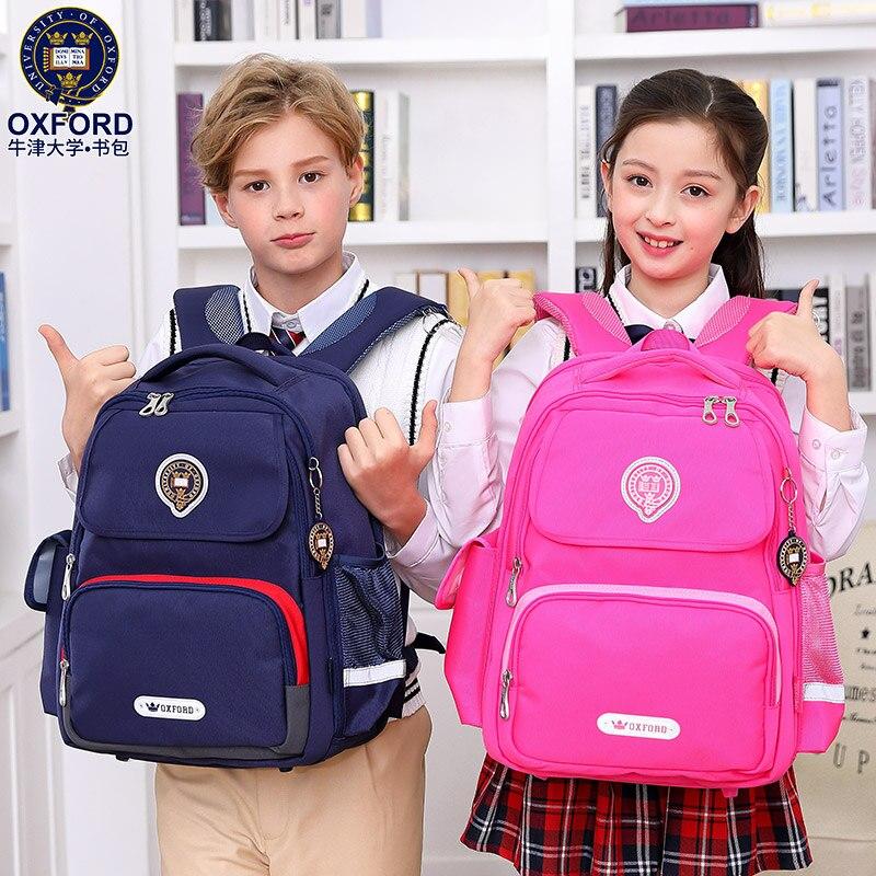 2019 New University Of Oxford children backpack school bag orthopedic for boys girls class 3 6