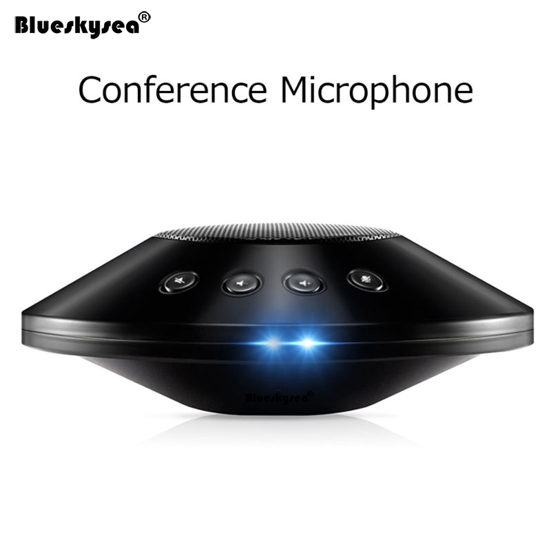 M39S Omnidirectional Conference Microphone Noise Reduction DSP Technology Stereo Conference Microphone Wired USB Loudspeaker Mic ovleng q8 usb wired stereo headphones w microphone white red black