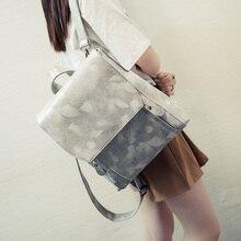 Горячие продаем корейский стиль рюкзак студент моды все матч мешок школы искусственная кожа книга мешок осень новый дизайн vintage style