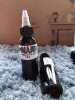 Professional 10 Bottle 30ML Dynamic Black Tattoo Ink Lining Shading Shader Pigment Tattoo Ink Supply High Quality