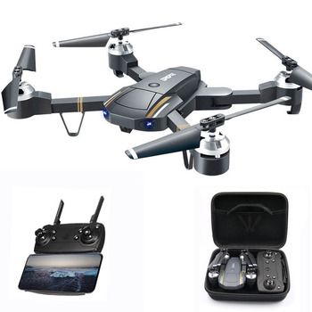 Drone WIFI FPV With Wide Angle HD Camera High Hold Mode Foldable Arm RC Quadcopter Drone RTF RC Helicopter fly Electric toy