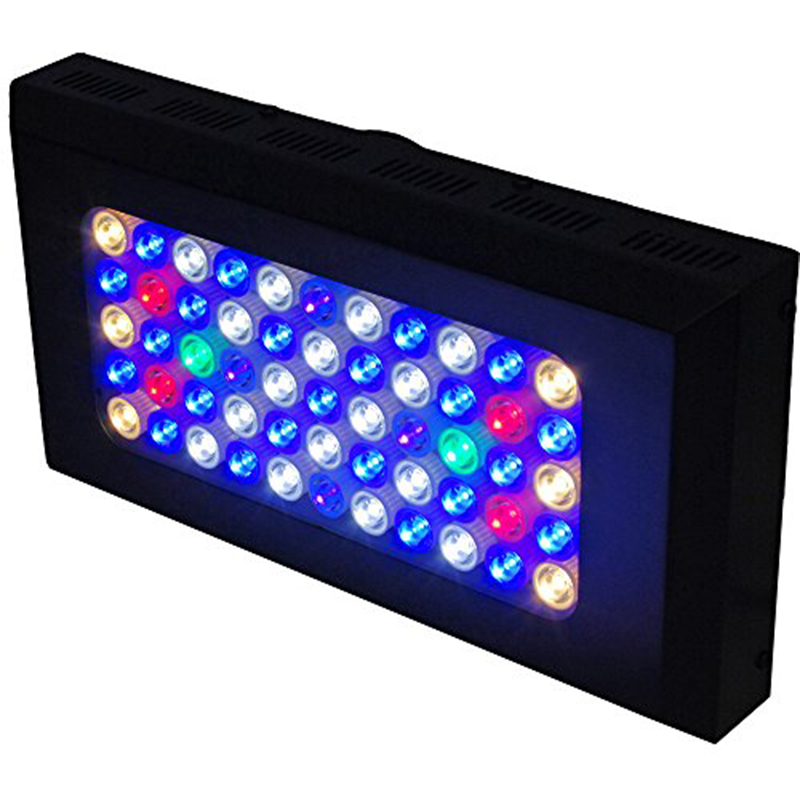 "Mh 48 Metal Halide T5 Aquarium Light 716w Coral Reef: 16"" MR120 Dimmable Full Specturm LED Aquarium Light Marine"