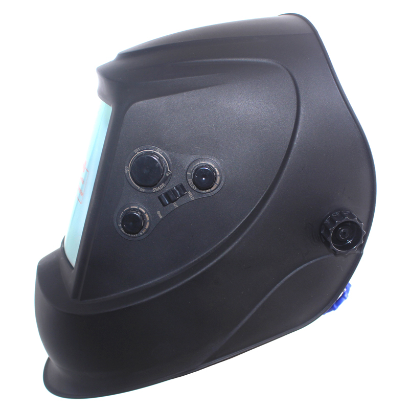 Большое окно 4 датчика внешняя регулировка Din 5-Din 13 Солнечная Автоматическая Затемняющая Сварочная маска шлем
