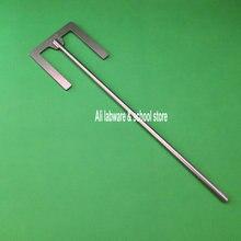 1 قطعة مختبر الفولاذ المقاوم للصدأ E نوع شفرة مجداف مع ورقة عرض 40 مللي متر أو 90 مللي متر