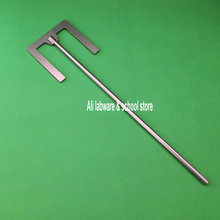 1pc lab rvs E type blade paddle met blad breedte 40mm of 90mm, roerder waaier paddle met staaf