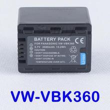 VW-VBK360 Батарея для Panasonic hc-v10, hc-v100, hc-v100m, hc-v500, hc-v500m, hc-v700, hc-v700m, hdc-tm55, hdc-tm80, hdc-tm90 видеокамера