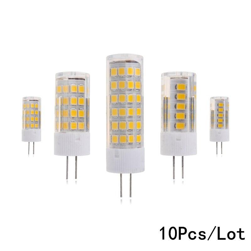 10Pcs/Lot High Quality LED G4 Lamp Bulb 3W 4W 5W 7W 2835SMD LED Light Bulb 220V 230V replace Halogen G4 for Chandelier