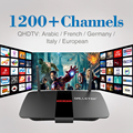 Android TV Box RK3128 Quad Core 1GB/8GB 2.4Ghz WiFi 1Year IPTV Europe Arabic Italy French Sky Canal Smart TV Box Media Player