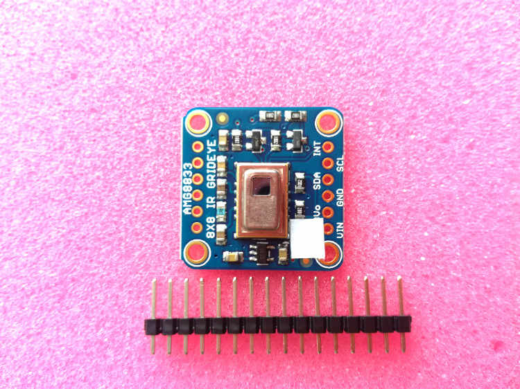 Infrared Array Thermal Imaging of Adafruit AMG8833 IR Thermal Camera 8x8  Thermal Camera