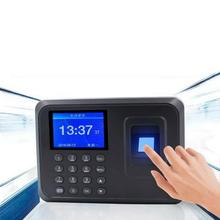 цена на 2.4 inch Biometric Fingerprint Time Clock Recorder Fingerprint Attendance Machine