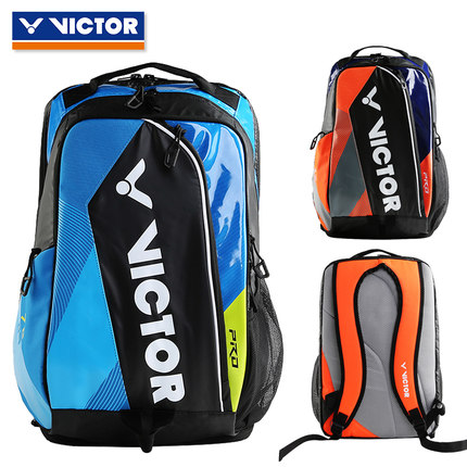 2018New Original Victor badminton bag Outdoor Sport Backpack Travel Bags Racquet Sports Gym Bag BR7009FC for