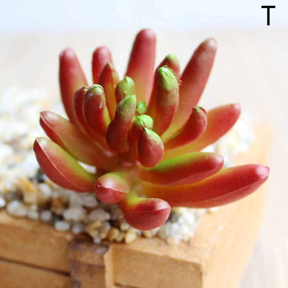 Buatan Succulents Tanaman Rumput Desert Tanaman Buatan Lanskap Palsu Bunga Ornamen Rumah Kantor Pesta Dekorasi Taman