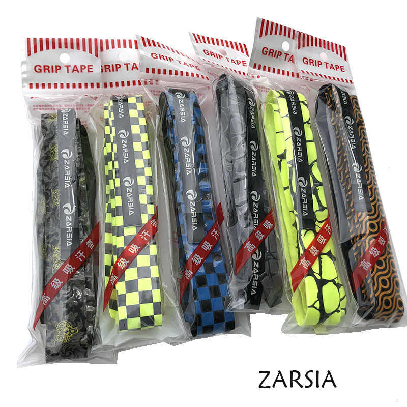 50pcs ZARSIA EVA-keel various printing Badminton Grip tennis rackets overgrips squash racket Sweatbands fishing rode grips