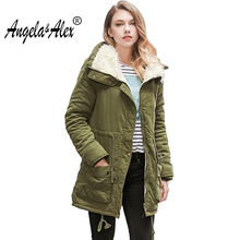 2017 New Winter Coats Women Cotton Jacket  ladies coat Casual Thickening Parka Plus Size hot winter jacket women 10