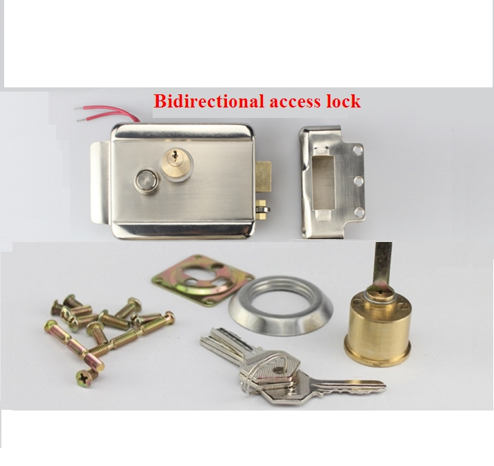 Anti-theft Electric Control Release Rim Door Lock Fail Secure Stainless Steel top quality 304 stainless steel interior door lock big 50 small 50 series bedroom door anti insert handle lock