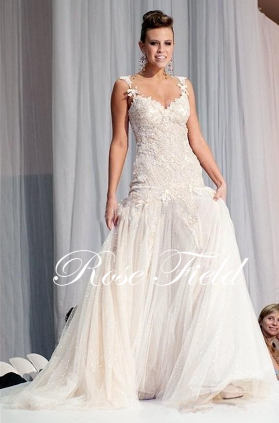 sexy backless wedding dresses tulle mermaid country lace