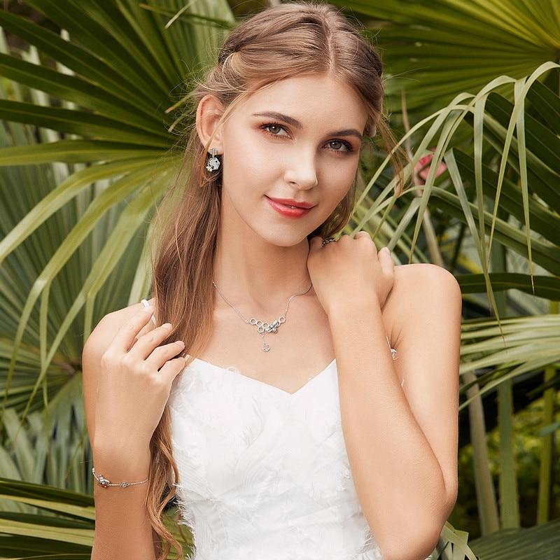 Real 100/% 925 Sterling Silver Dancing Honey Bee Crystal Adjustable Bracelet