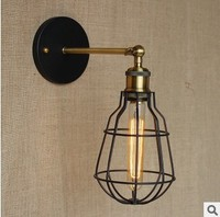 40W Loft Retro Vintage Wall Lamp Home Indoor Lighting Edison Wall Sconce Lamparas De Pared LED Wall Lights