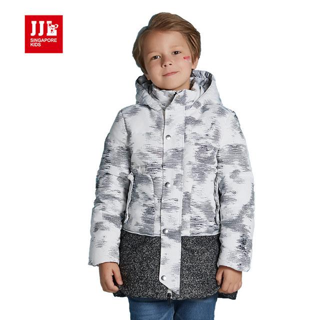 Meninos inverno jaquetas crianças para baixo casacos meninos casacos crianças jaquetas tamanho 6-15 t 80% de pato branco para baixo meninos roupas