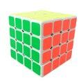 Feng ShengShou Viento 4x4x4 Cubo Mágico Puzzle Cubo de la Velocidad con la Etiqueta Engomada DEL PVC