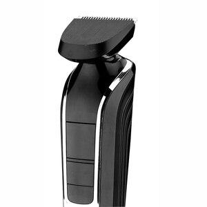 Image 5 - KEMEI 5 ב 1 מקצועי נטענת שיער גוזם שיער קליפר מכונת גילוח תער אלחוטי מתכוונן שיער מכונת חיתוך KM 1832