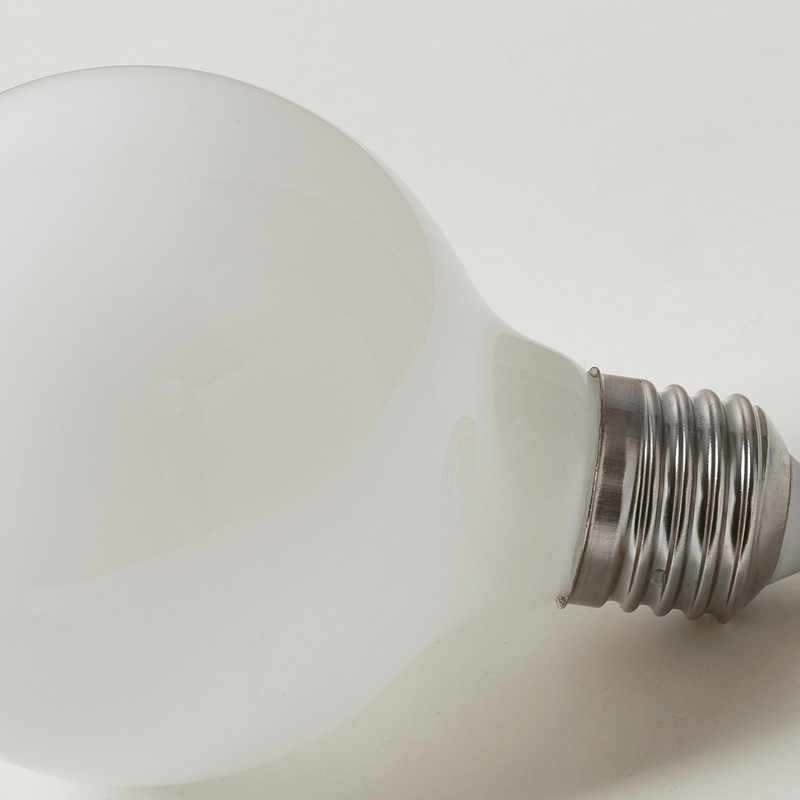Молочно-белый светодио дный лампочки G80 G95 G125 E27 ретро для нити света Винтаж Глобус лампы Стекло под старину светодио дный лампы для дома