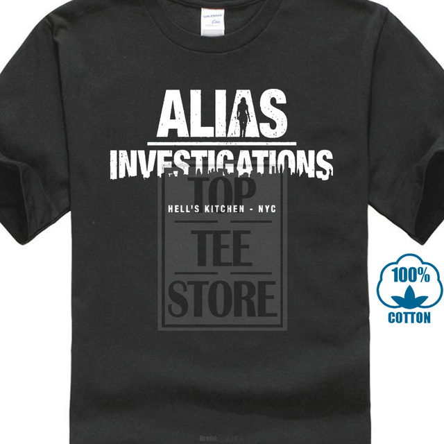Jessica Jones T Shirt Alias...