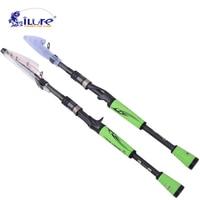 ILure 2017 New 1 98M 2 1M 10 28g Lure Ultra Light Weight Telescopic Fishing Rod