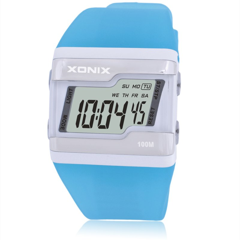 Precis LED Digital Display Armband Watch Barnens Studenter Sportsklocka Super Fashion Sport Watch Vattentät 100 FZ