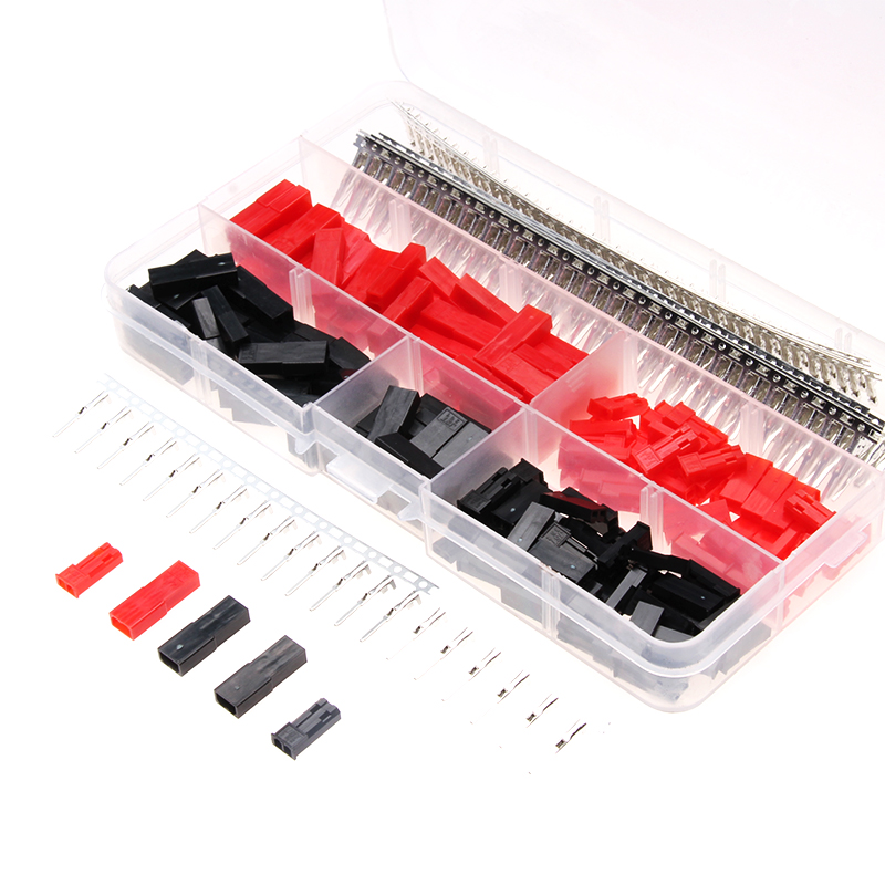 480 PCS Male/Female 2.54mm Wire Jumper Pin Connector Dupont Electrical Wire Cable Housing Kit with Box 1000pcs dupont jumper wire cable housing female pin contor terminal 2 54mm new