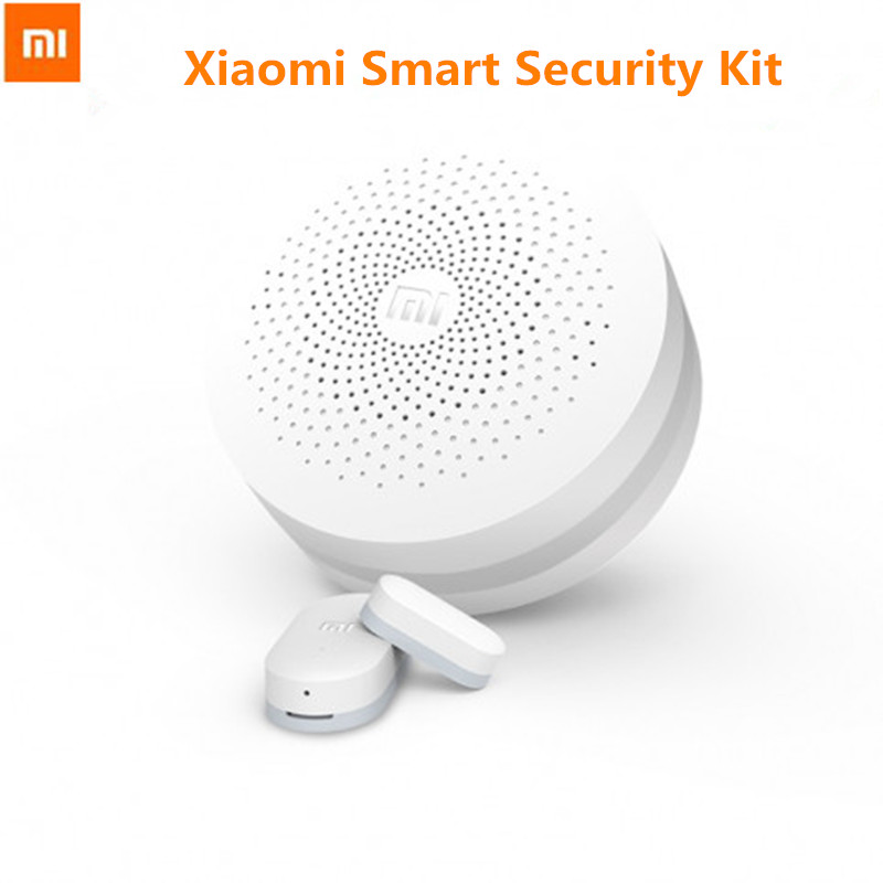 Prix pour D'origine xiaomi smart kit de sécurité passerelle porte fenêtre capteur multifonctionnel appareils intelligents ensembles