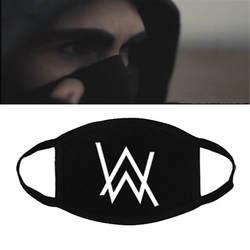 Alan Walker маска Пылезащитная дышащая женская мужская маска для верховой езды модные аксессуары