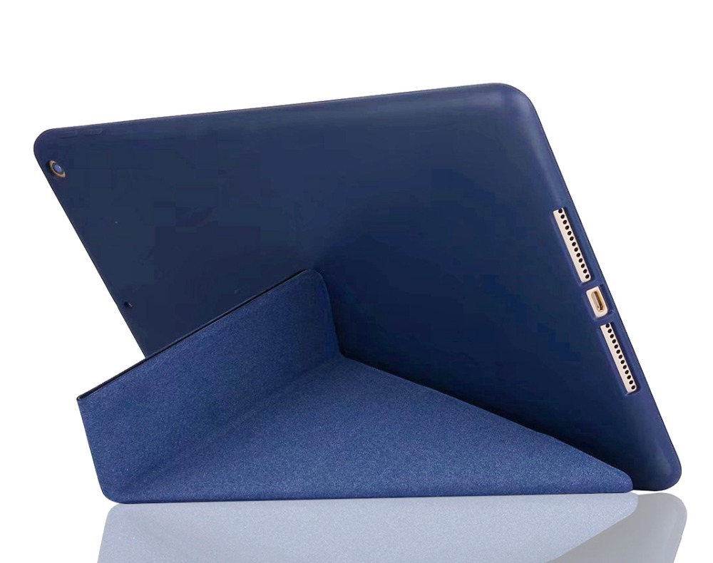 Case for iPad 2 iPad 3 iPad 4 YRSKV deform PU leather cover + TPU soft silicone Stand Smart sleep Wake Tablet Cover Case