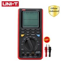 цены UNI-T UT81B UT81C Handheld Digital Multimeters Oscilloscope Electrical Tools Input Sensitivity Diode USB Interface