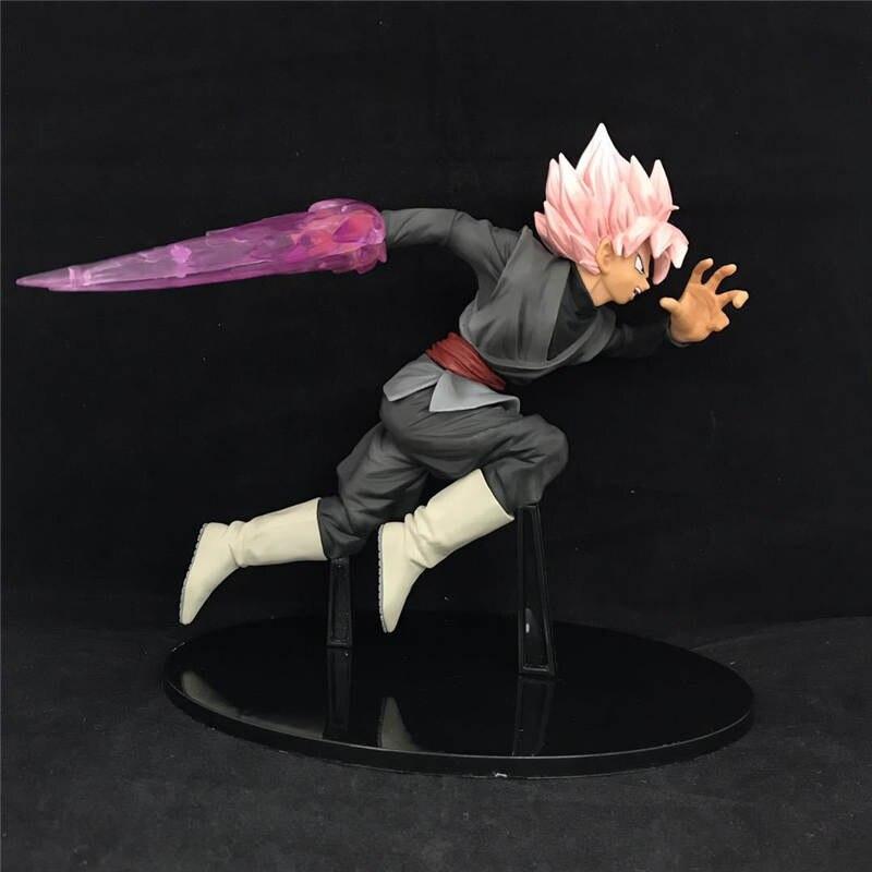 где купить Anime Super Saiyan Dragon Ball DBZ SS Rose warrior Goku Black Universe 10 Action Figure Brinquedos Toys Figurals по лучшей цене