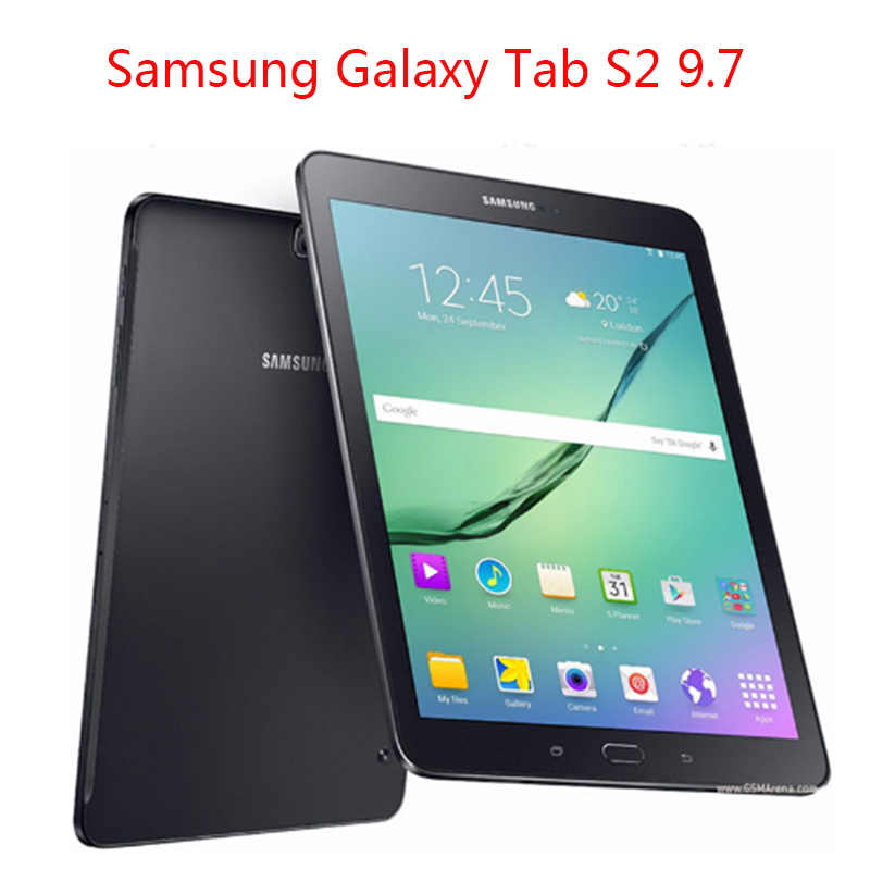 PU Leather Case voor Samsung Galaxy Tab S2 9.7 T810 T813 T815 T819 9.7 inch tablet cover voor Samsung Galaxy tab S2 9.7 case