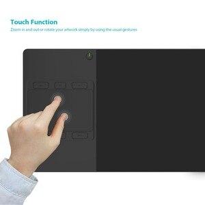 Image 2 - Huion INSPIROY G10T اللاسلكية الرقمية اللوحي لويحة الرسم البياني القلم و لوحة اللمس الاصبع مع 6 مفاتيح صريحة و قفاز