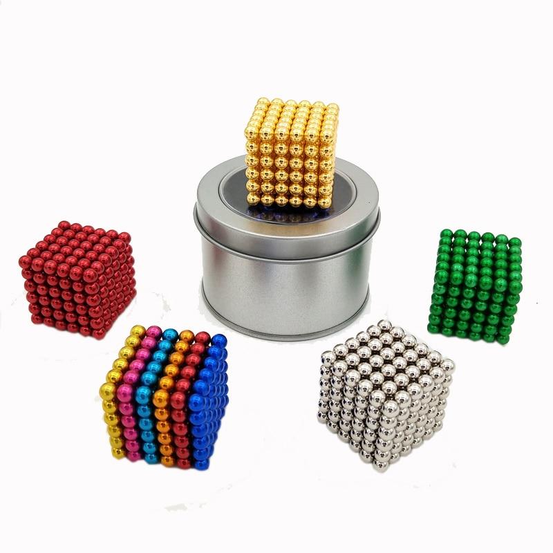 224 pcs NdFeB Magnet Balls 5mm diameter Strong Neodymium Sphere D5 ball Permanent Magnets Rare Earth Magnets with Gift Box Bag diy 5mm round neodymium magnets purple 216 pcs
