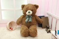 fillings toy about 80cm green teddy bear plush toy soft doll pillow Christmas gift b1899