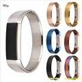 Nueva Llegada de 4 Colores de Metal 316 de Acero Inoxidable Venda de Reloj de la Correa de Repuesto Para Fitbit Alta Rastreador Pulsera de Alta Calidad
