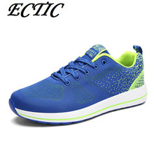 2017 walking Shoes for Men Light Weight Air Mesh Breathable Men's Shoes Athletic Sport shoes Sneakers free shipping