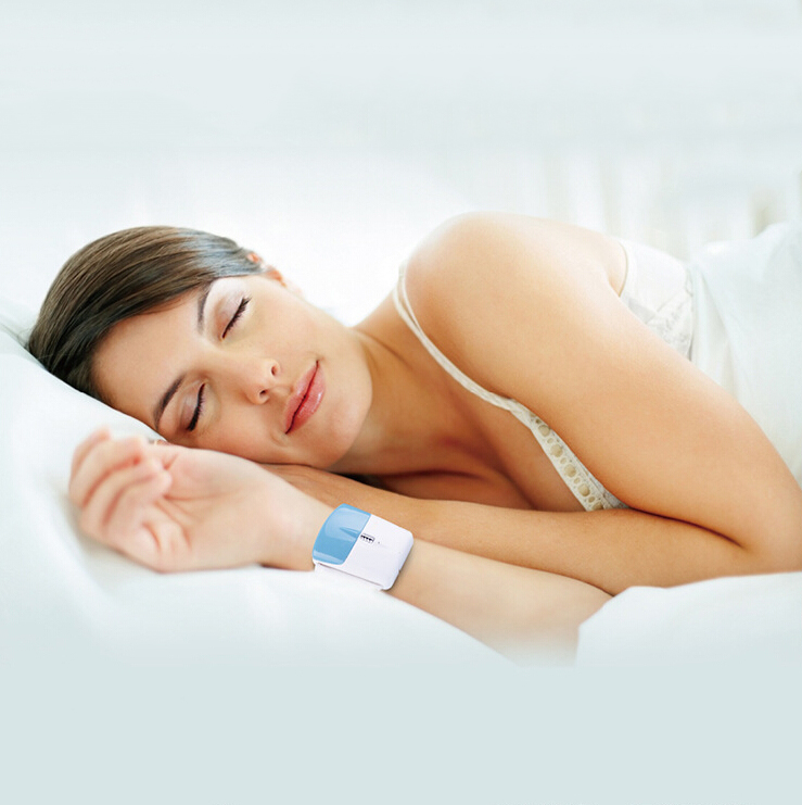 New Infrared Anti Snore Wristband Watch Stop Snoring Sleep Aid Device silence anti snoring