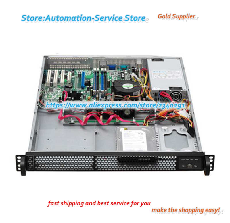 Cool Breeze 157C 1U Server Industrial Control Chassis Support Chassis Standard CD-ROM Drive And Two Hard Drives