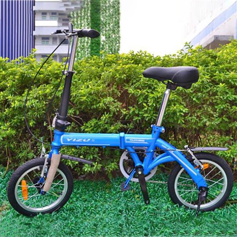 Selling14 pouces vélos pliants enfants femmes loisirs les pièces de vélo de guidon haut droit au détail vélos pliants