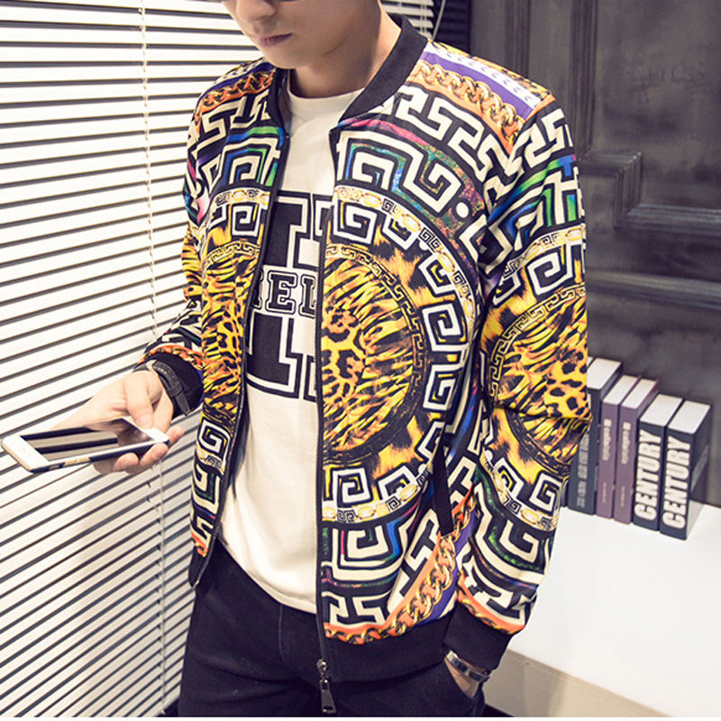 Popular Mens Leopard Print Jacket-Buy Cheap Mens Leopard Print ...